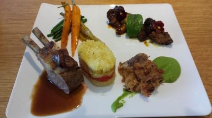 L'agneau en trois cuisson (variations)