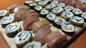 Sushis, Maki et sachimis