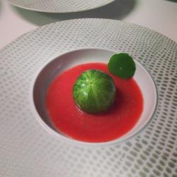 La tomate crevettes revisitée