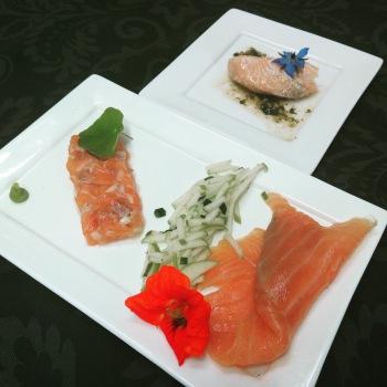 Variation autour du saumon