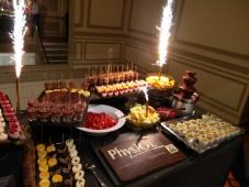 Le buffet de desserts