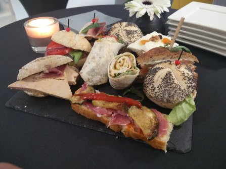 Nos minis sandwiches