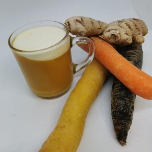 Velouté carotte cumin