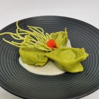 Tortellini ricotta, épinards et gorgonzola