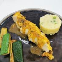 Filet de Poulet fermier à la coriandre et citron vert